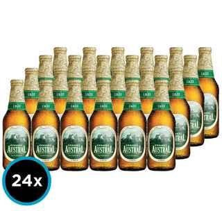 24x Cerveza Austral Lager en Botellas 330cc