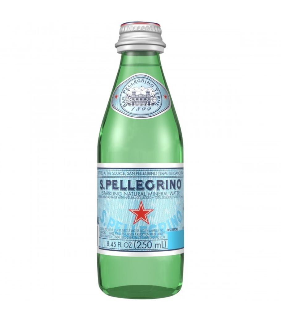 Agua San Pellegrino Glass Spark 250cc