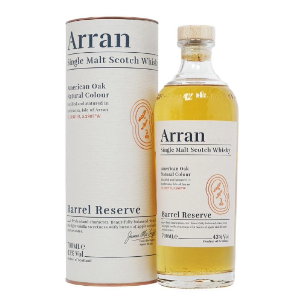 Whisky Arran Single Malt Barrel Reserve 700cc 43ºalc.