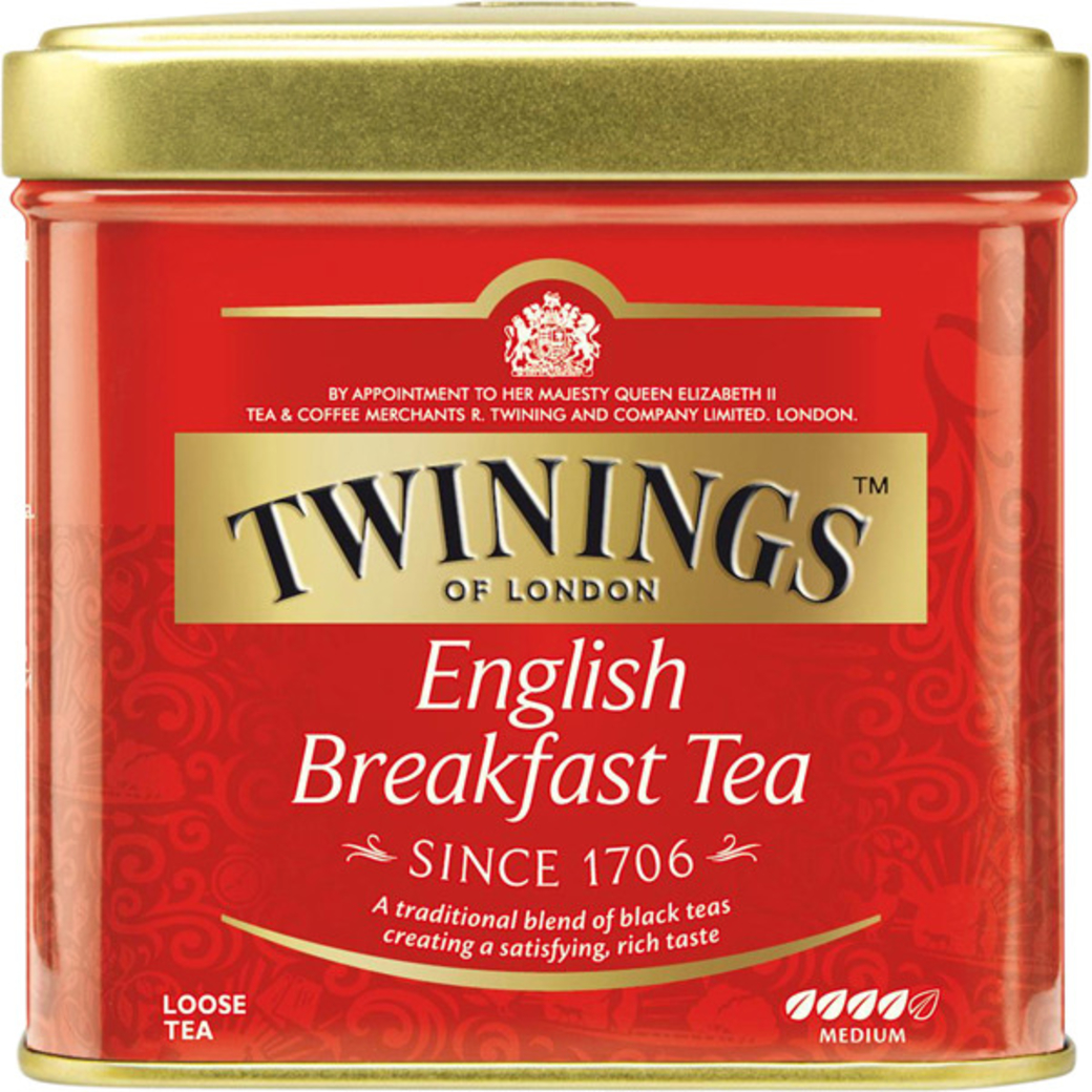 Té Twinings English Breakfast Lata 100 gramos