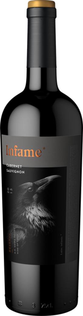 Vino Infame Reserva Cabernet Sauvignon - El Cuervo 750cc