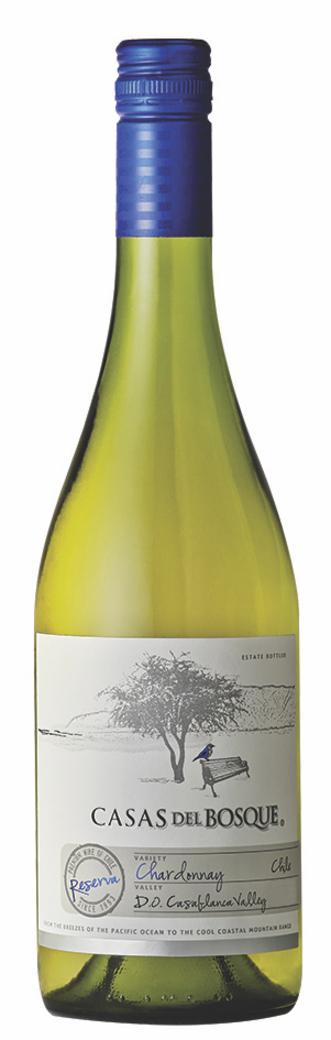 Vino Casas del Bosque Reserva Chardonnay 750cc