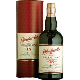 Whisky Glenfarclas 15 años 700cc 46º alc.