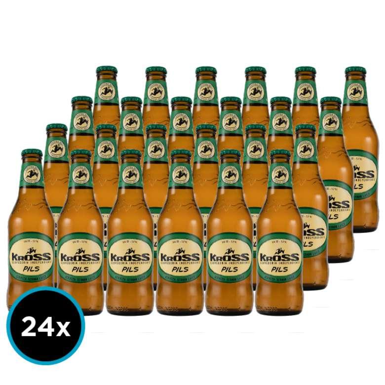 24x Cerveza Kross Pilsner en Botellas 330cc