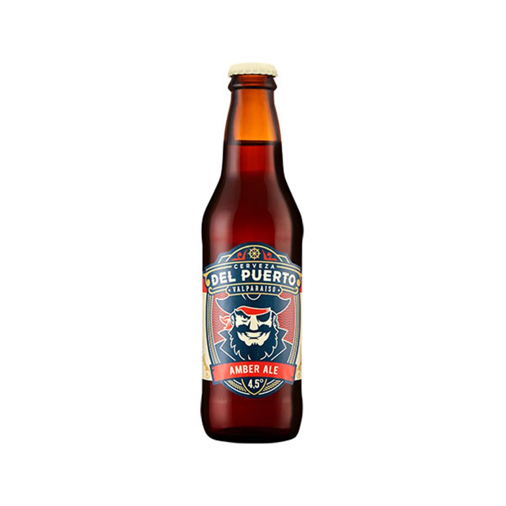 Cerveza del Puerto Amber Ale Botella 330ml