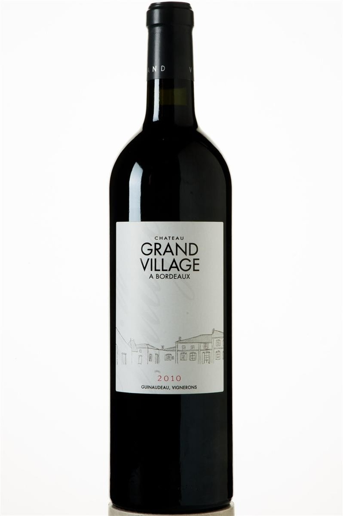 Vino Chateau Grand Village Merlot 750cc