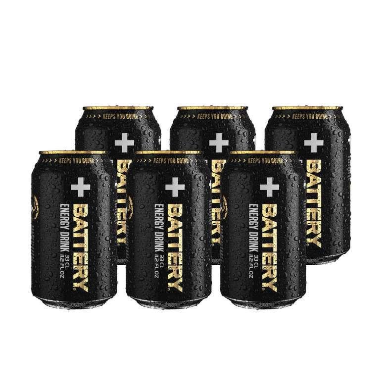6x Bebida Energetica Battery 330cc