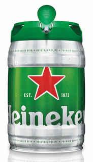 Barril Cerveza Heineken 5 Litros