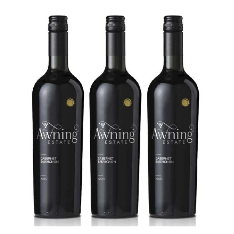 3x Vino Awning Estate Cabernet Sauvignon 750cc
