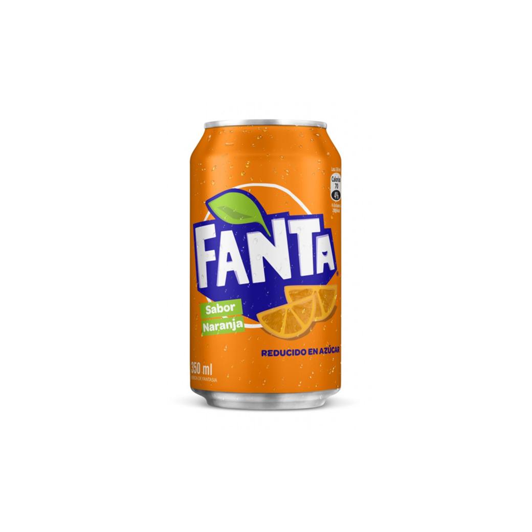 Bebida Fanta Lata 350cc