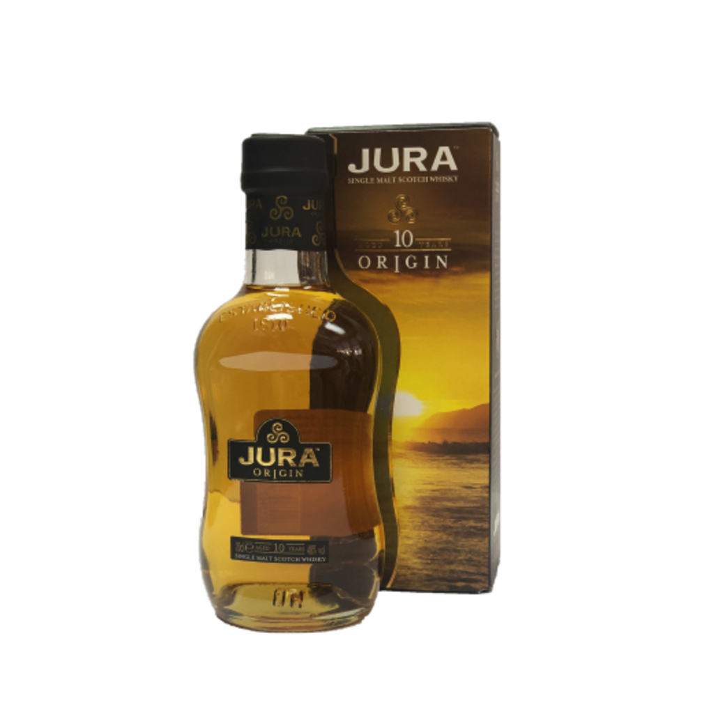 Whisky Single Malt Jura 10 Años Petaca 200cc
