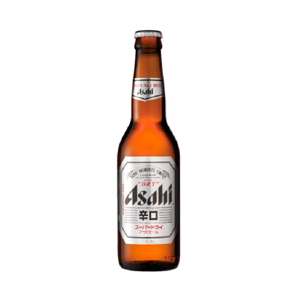 Cerveza Japonesa Asahi Super Dry Botella 330cc