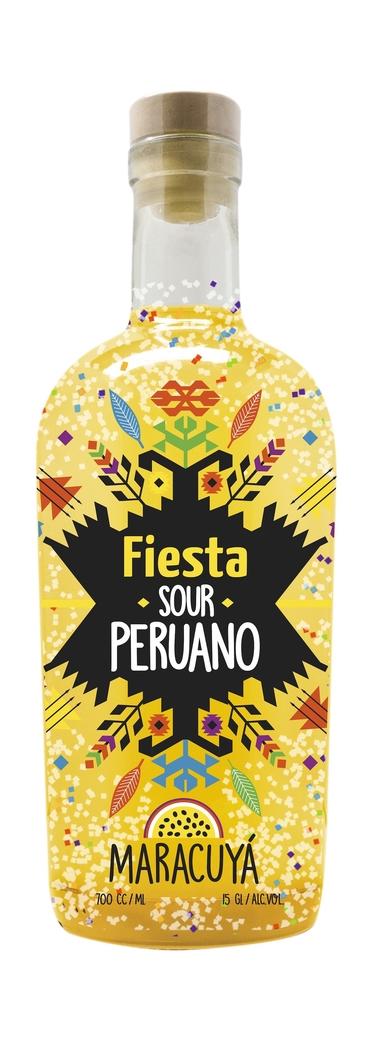 Fiesta Pisco Sour Peruano Maracuyá 700cc