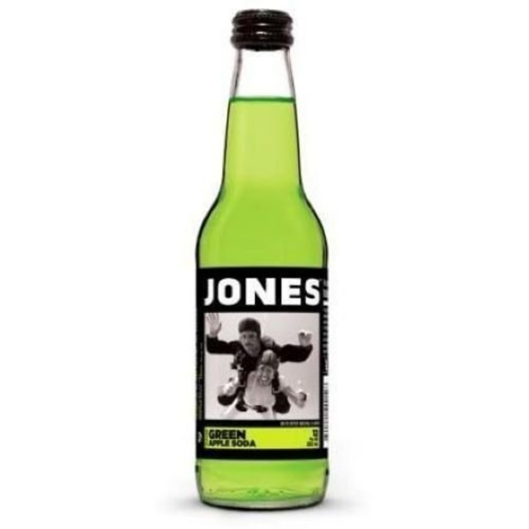 Jones Green Apple Soda 355cc