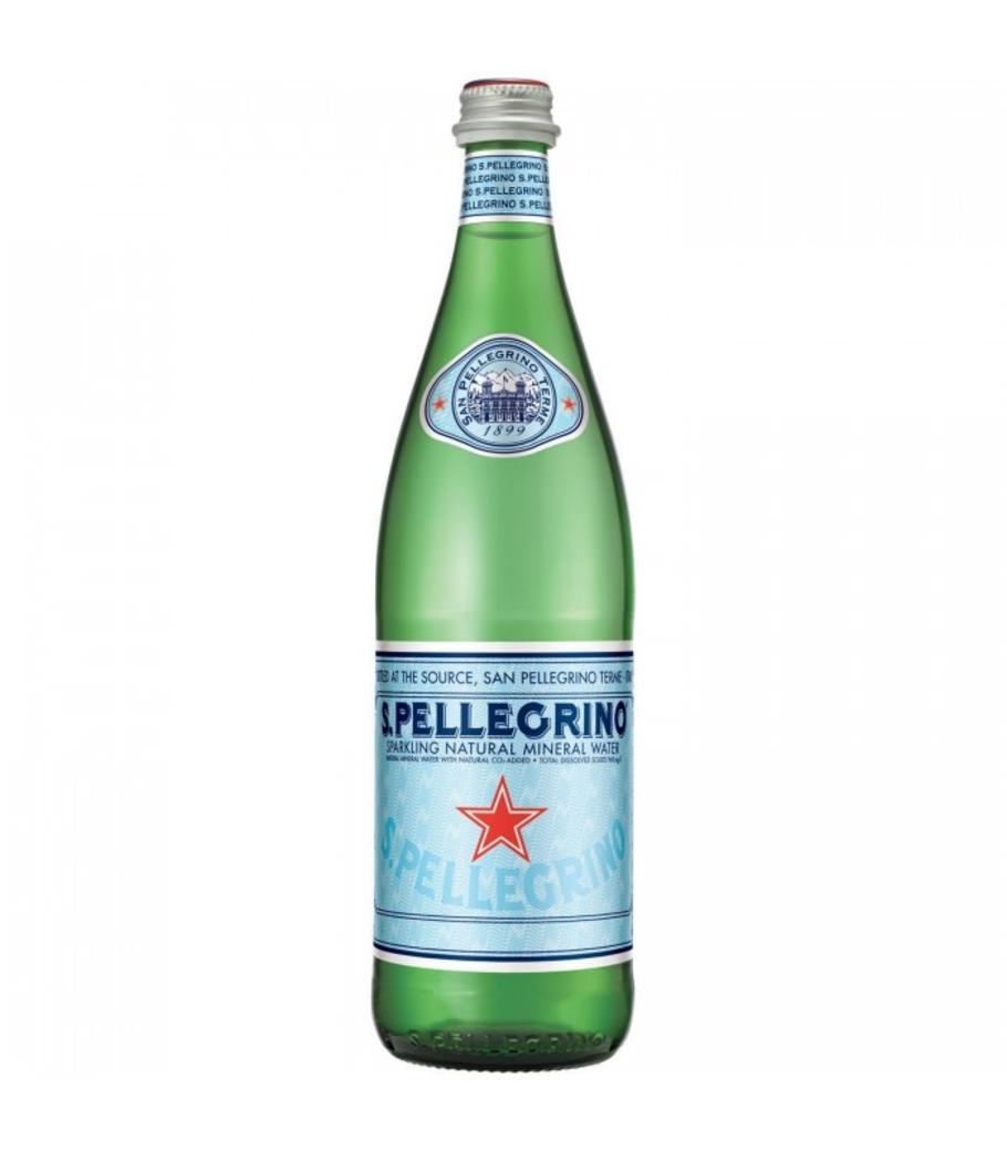Agua San Pellegrino Glass Spark 750cc