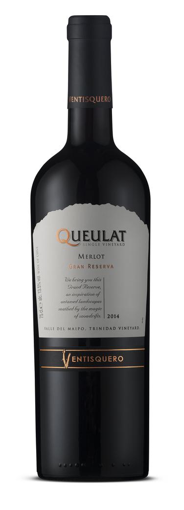 Vino Ventisquero Queulat Merlot 750cc