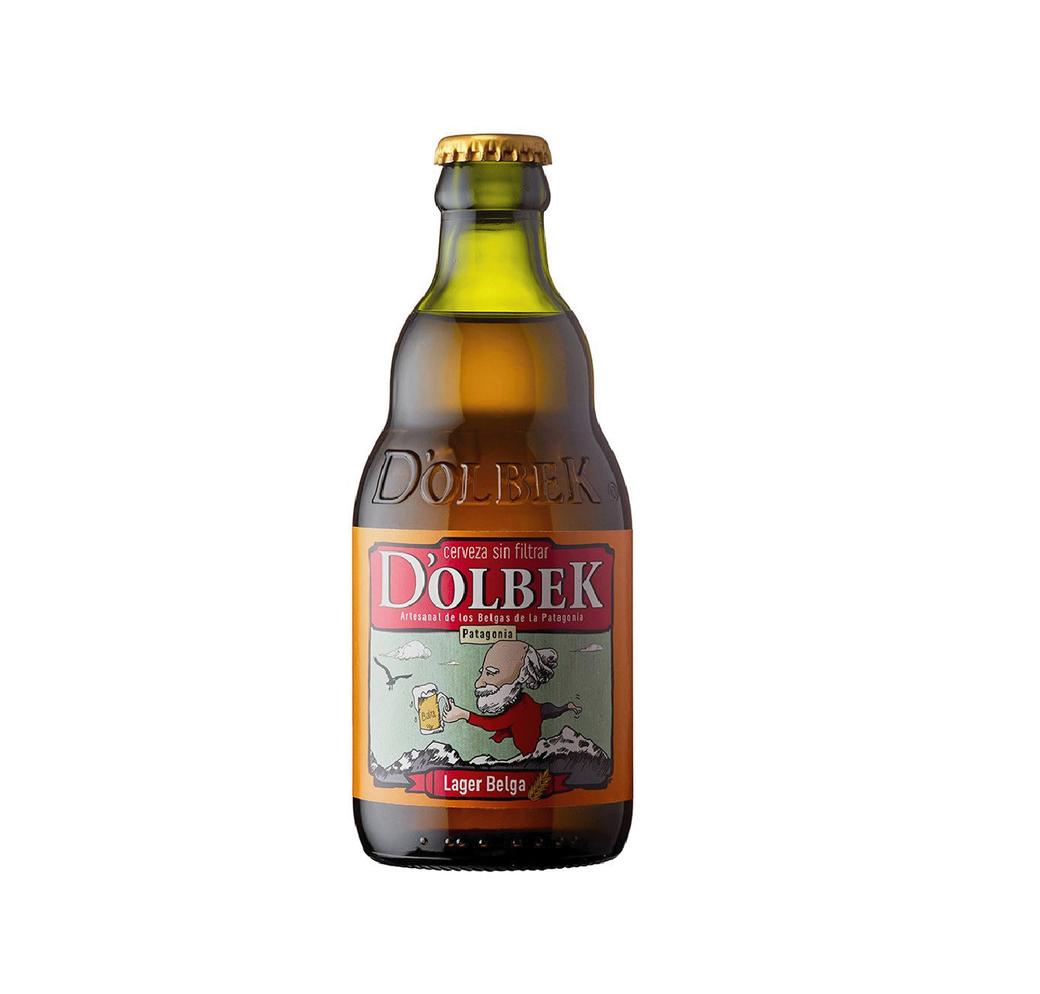 Cerveza D'OLBEK Lager Belga 330cc