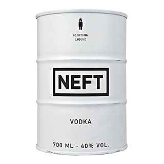 Vodka NEFT White 700cc 40º alc.