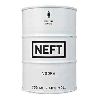 Vodka NEFT White 700cc 40º alc.