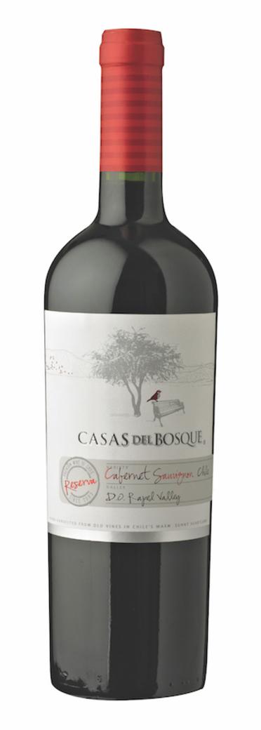 Vino Casas del Bosque Reserva Cabernet Sauvignon 750cc