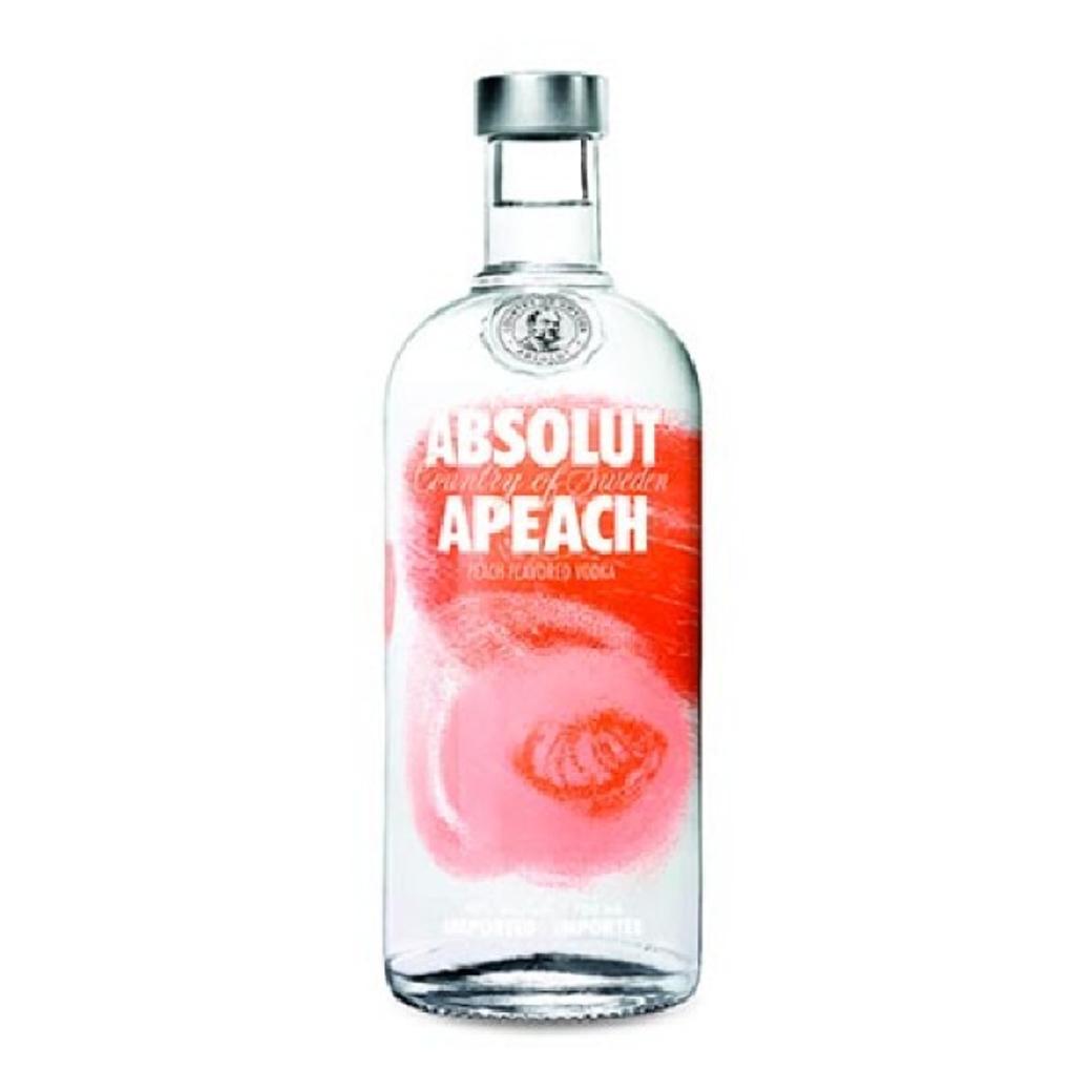 Vodka Absolut Apeach 750cc 40º alc.