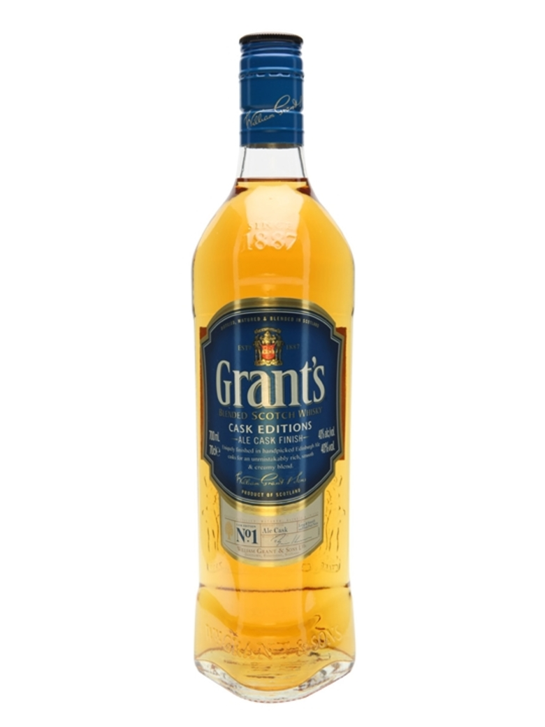 Whisky William Grants Ale Cask 750cc 40º alc.