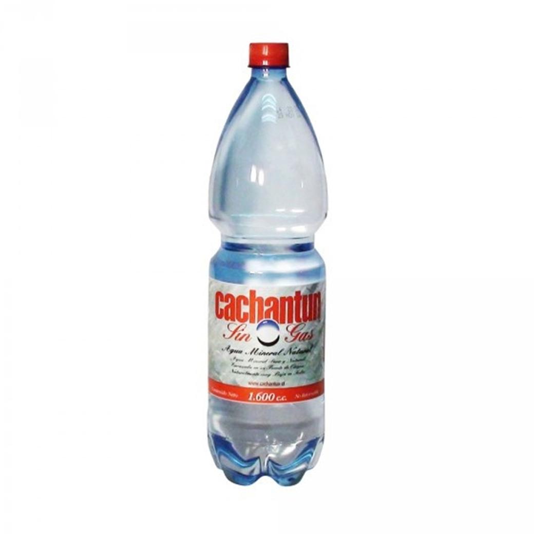 Agua Mineral Cahantun Sin Gas 1.600cc