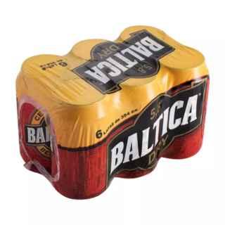 6x Cerveza Baltica en Latas 350cc