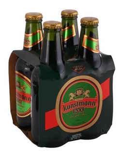 4x Cerveza Kunstmann Bock Botella 355cc.