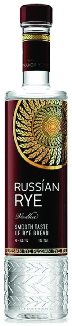 Vodka Russian Rye 700cc