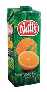 Jugo Watts Fresco Naranja 1 lt.