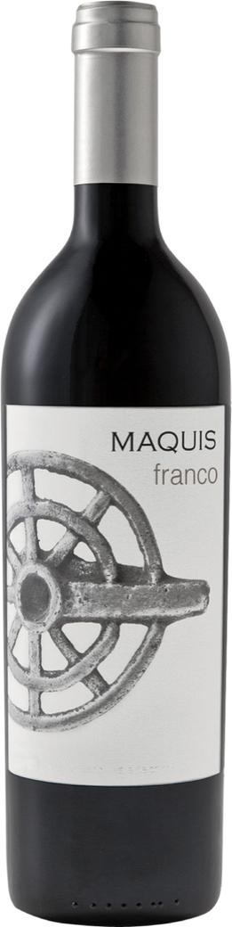 Vino Maquis Franco Cabernet Franc 750cc