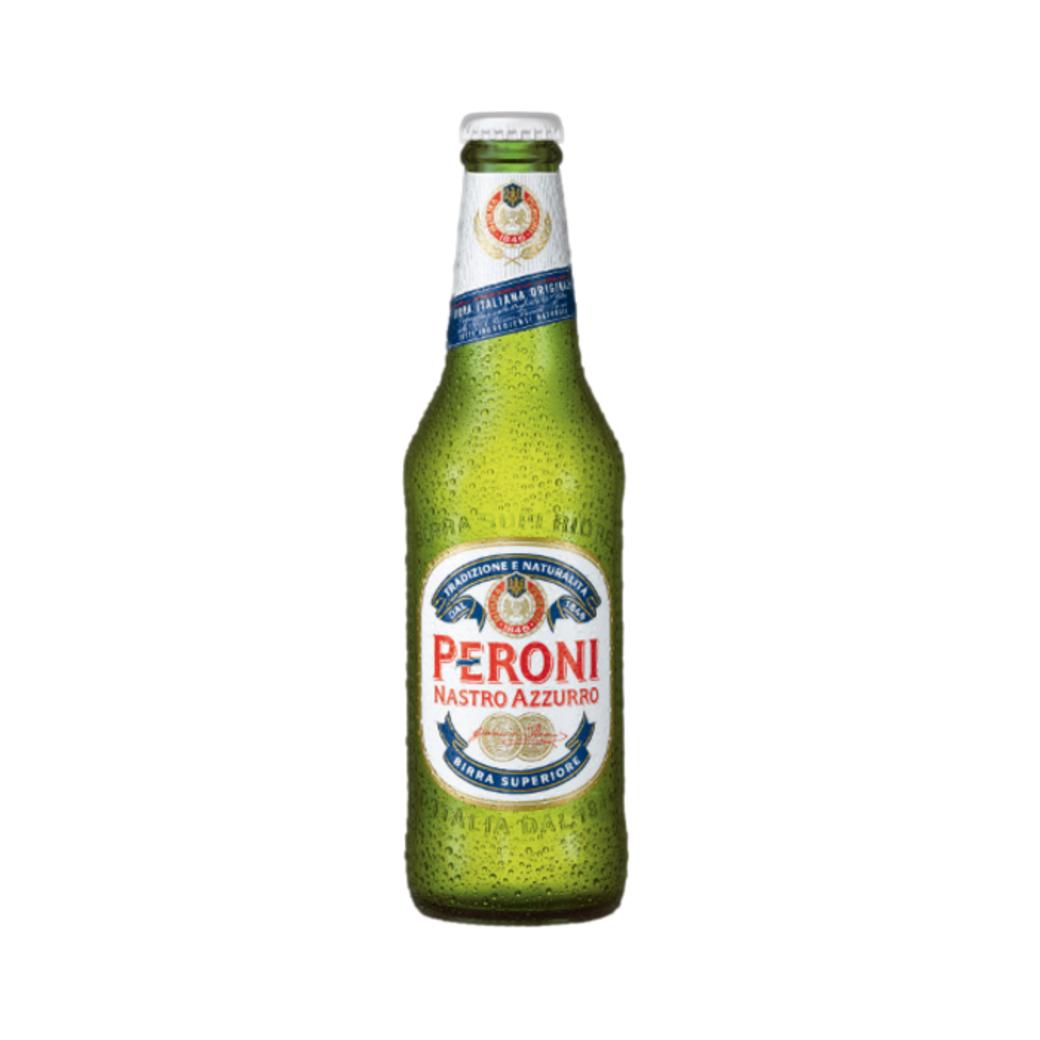 Cerveza Peroni Nastro Azzurro Botella 330cc