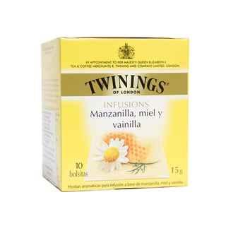 Te Twinings Manzanilla / Miel / Vainilla 10 Bolsitas