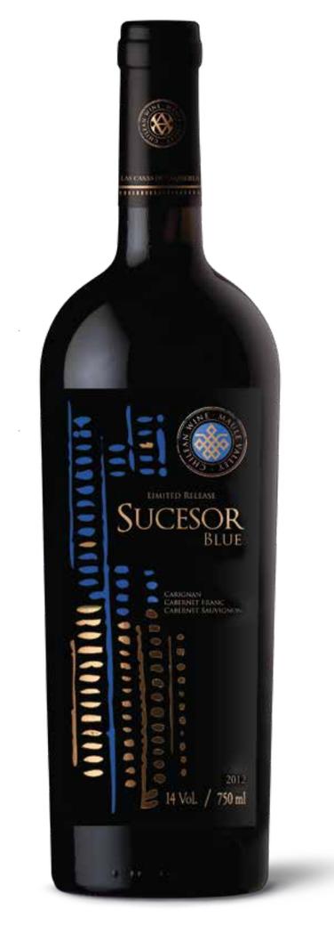 Vino Casa Donoso Sucesor Blue (CG/CS/CF) 750cc