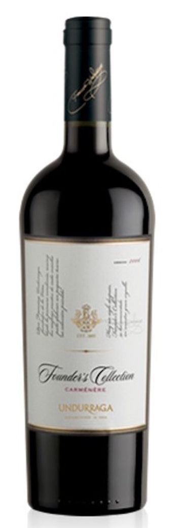 Vino Undurraga Founders Collection Carmenere 750cc