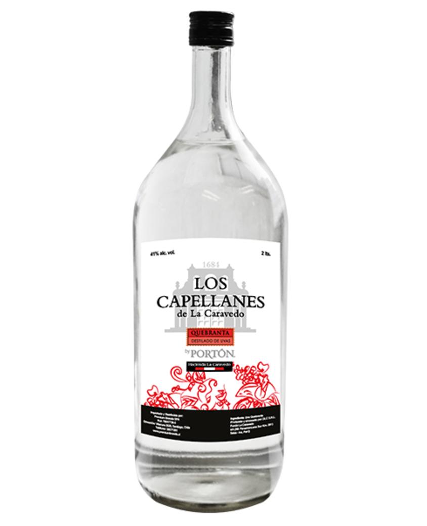 Pisco Los Capellanes de La Caravedo By Portón 2lt