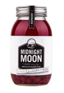 Whiskey Midnight Moon Raspberry (Frambuesa) 750cc 45º alc.