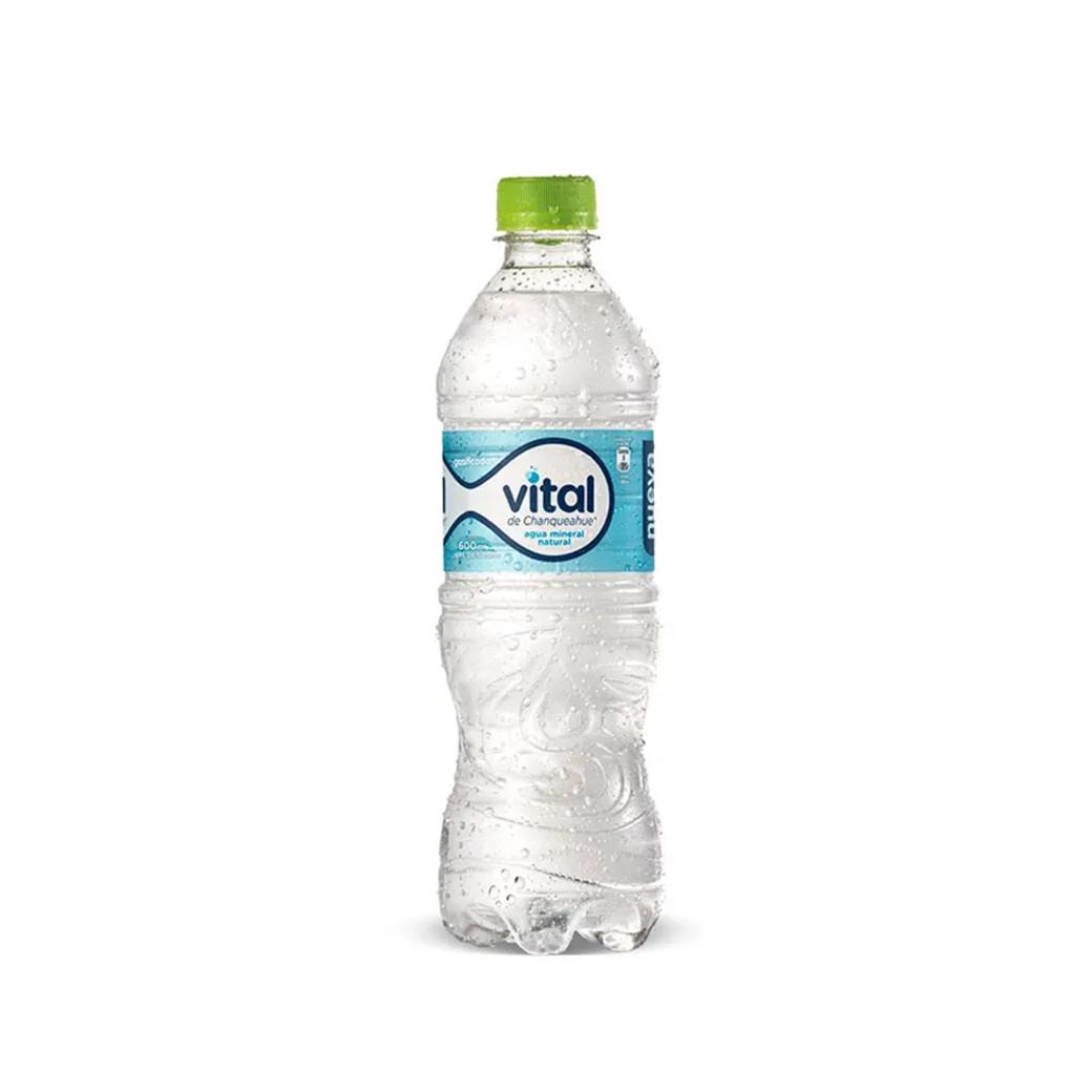 Agua Mineral Vital Con Gas 600cc