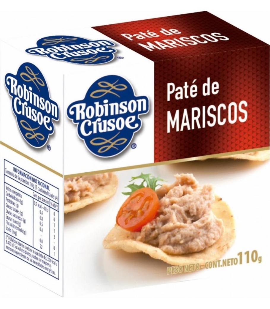 Paté de Mariscos Robinson Crusoe 110 gramos