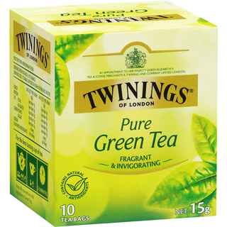 Te Twinings Pure Green Tea 10 Bolsitas
