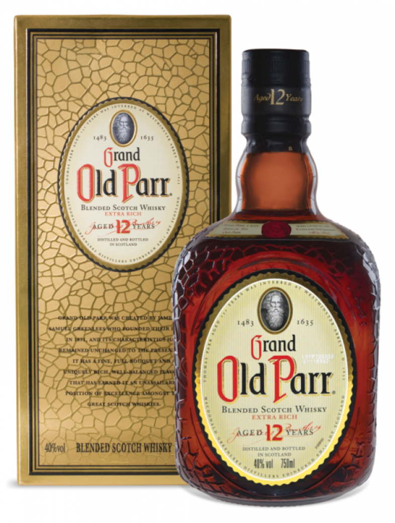 Whisky Old Parr 750cc
