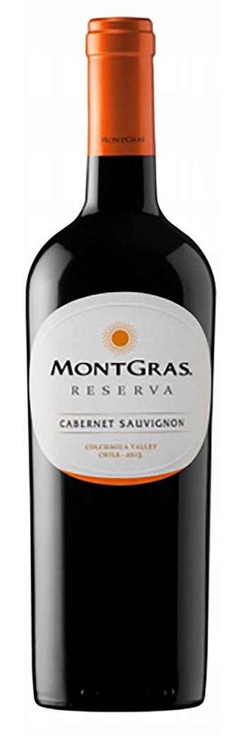 Vino Montgras Reserva Cabernet Sauvignon 750cc