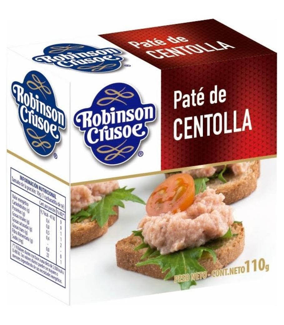 Paté de Centolla Robinson Crusoe 110 gramos