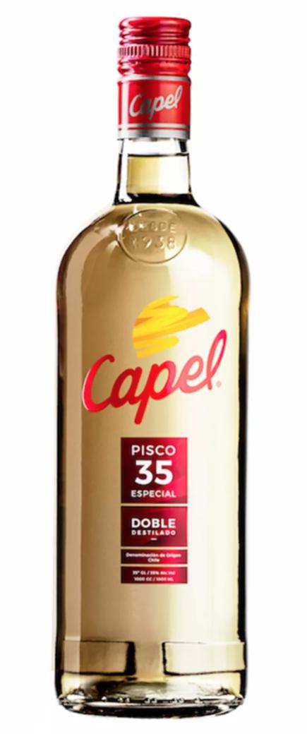 Pisco Capel Especial Doble Destilado 35° 1 Lt