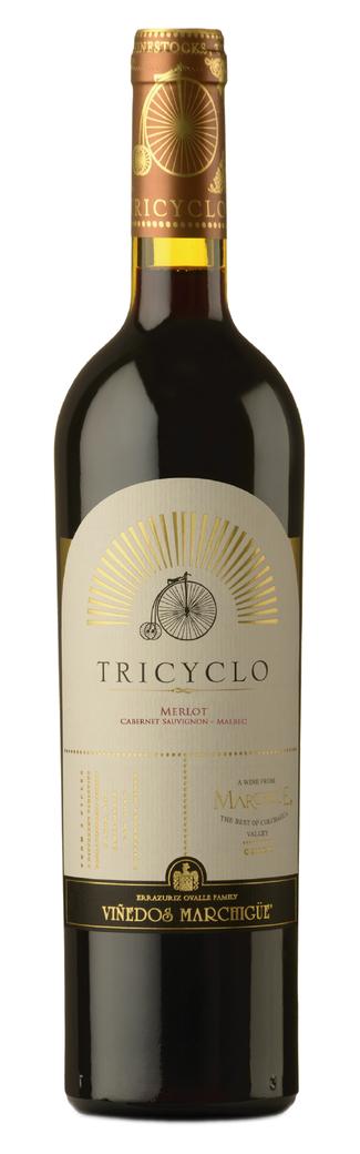 Vino Tricyclo (Merlot - Cabernet - Malbec) 750cc