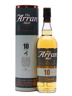 Whisky Arran Single Malt 10 Años 700cc 46º alc.