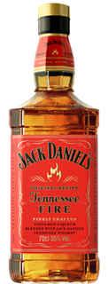 Whiskey Jack Daniels Tennessee Fire 750cc 35º alc.