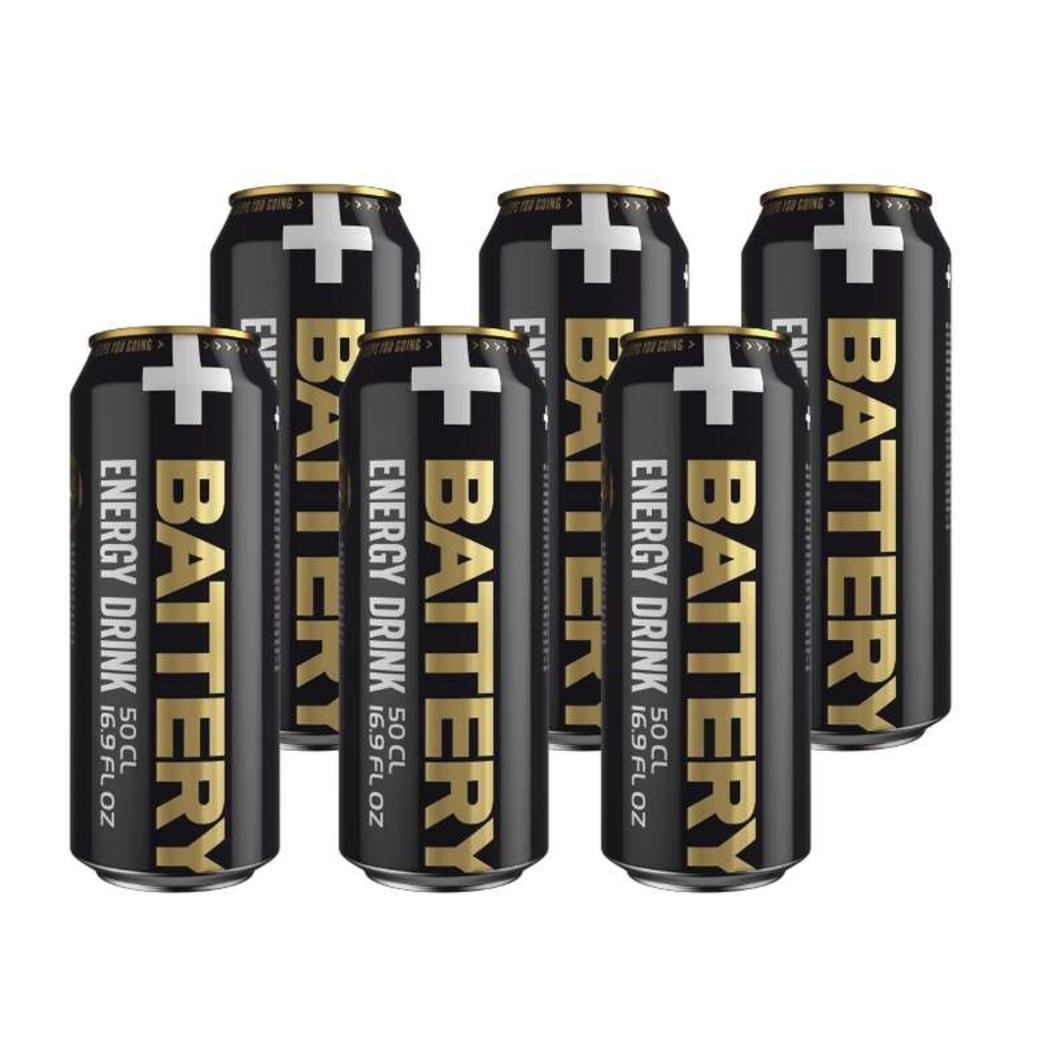 Bebida Energética Battery 500cc