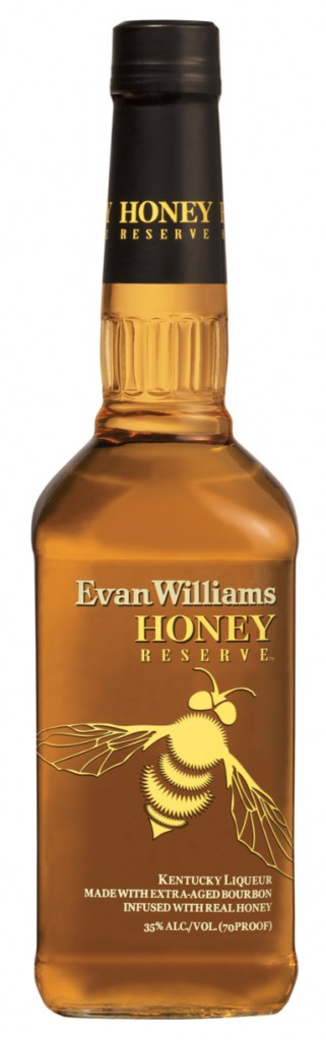 Whiskey Bourbon Evan Williams Honey 750cc